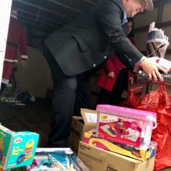BEXAR COUNTY COMMISSIONER KEVIN WOLFF FRIENDS OF CWB CAK TOY DRIVE