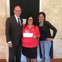 FRIENDS OF CWB BEXAR COUNTY JUDGE WOLFF MEMBER JESSICA FLORES PEOPLES HEB THANKSGIVING DONATION